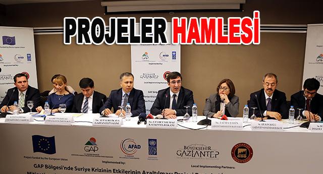 Gaziantep'e 45 milyon TL'lik destek verilecek