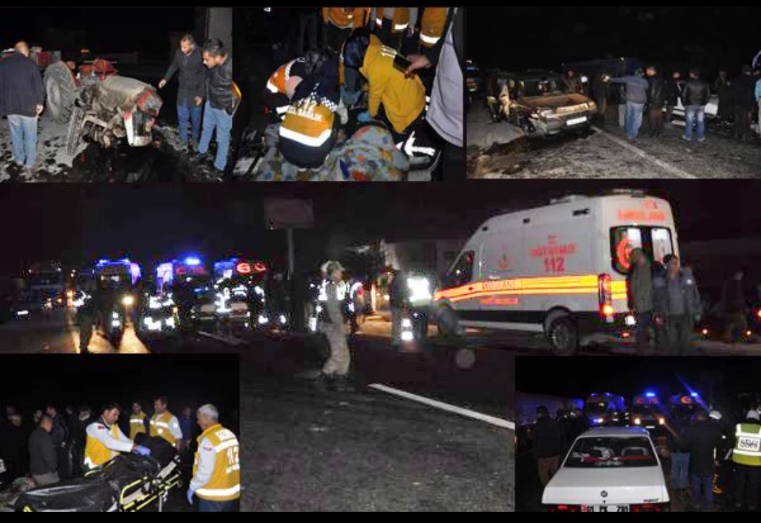 Gaziantep te karı koca kaza kurbanı