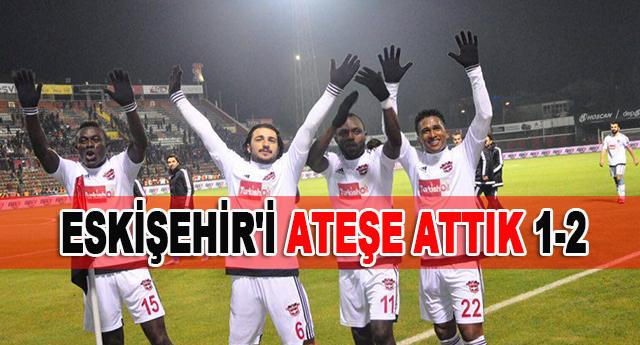 Gaziantepspor karşılaşmayı 2-1 kazandı
