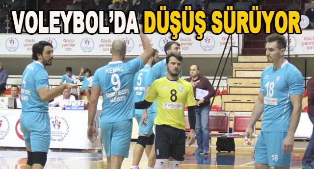 Şahinbey Belediyespor, 3-1 mağlup oldu