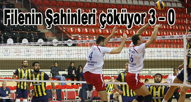 Mağlubiyet serisini Fenerbahçe karşısında da sürdürdüler
