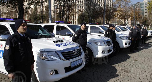 Gaziantep'te emniyete zırhlı araç bağışı
