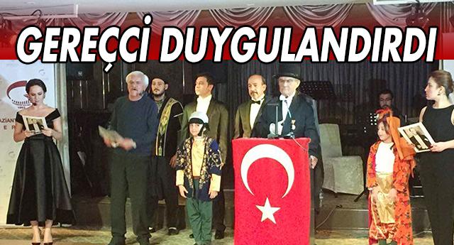 Atatürk'ü Gereçci canlandırdı