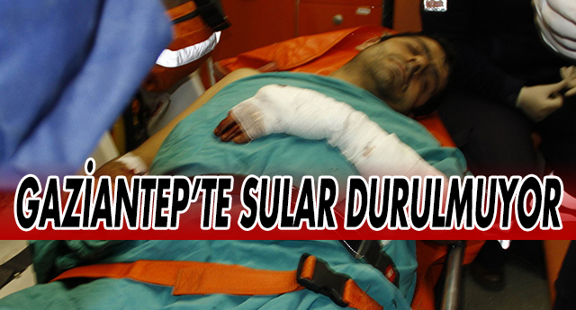 GAZİANTEP'TE EVE SİLAHLA SALDIRDILAR !