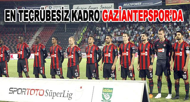 Gaziantepspor oyuncularının tecrübesiyle dikkat çekti