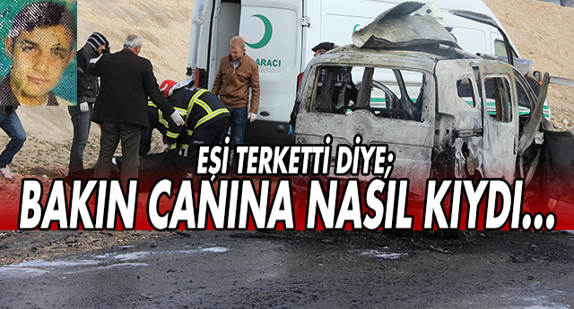 GAZİANTEP'TE İNANILMAZ İNTİHAR, BÖYLESİ GÖRÜLMEDİ !