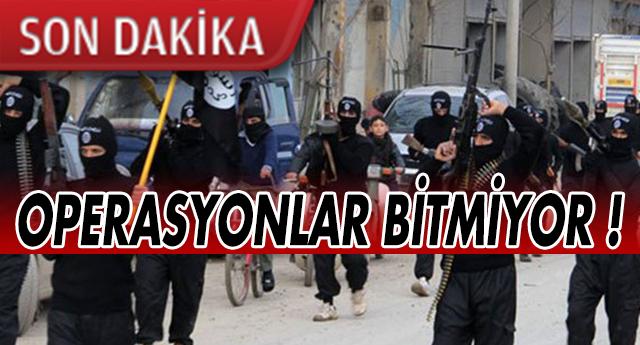 GAZİANTEP'TE İŞİD OPERASYONU | ÇOK SAYIDA GÖZALTI !
