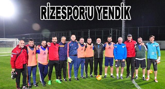 8-7'lik skorla Gaziantepspor kazandı