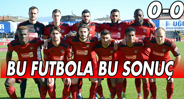 KUPA FOBİSİ SÜRÜYOR 0-0