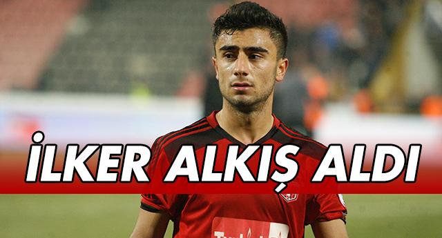 İLKER ALKIŞ ALDI