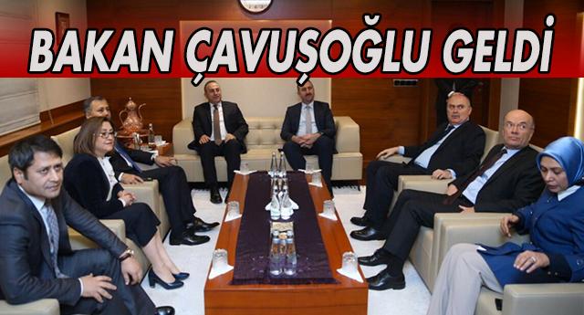 Çavuşoğlu Gaziantep'te