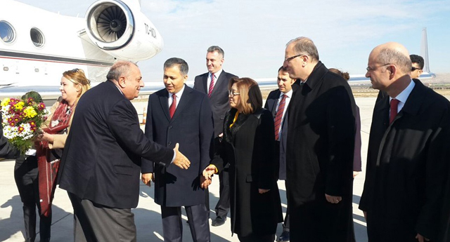Türkeş Gaziantep'te