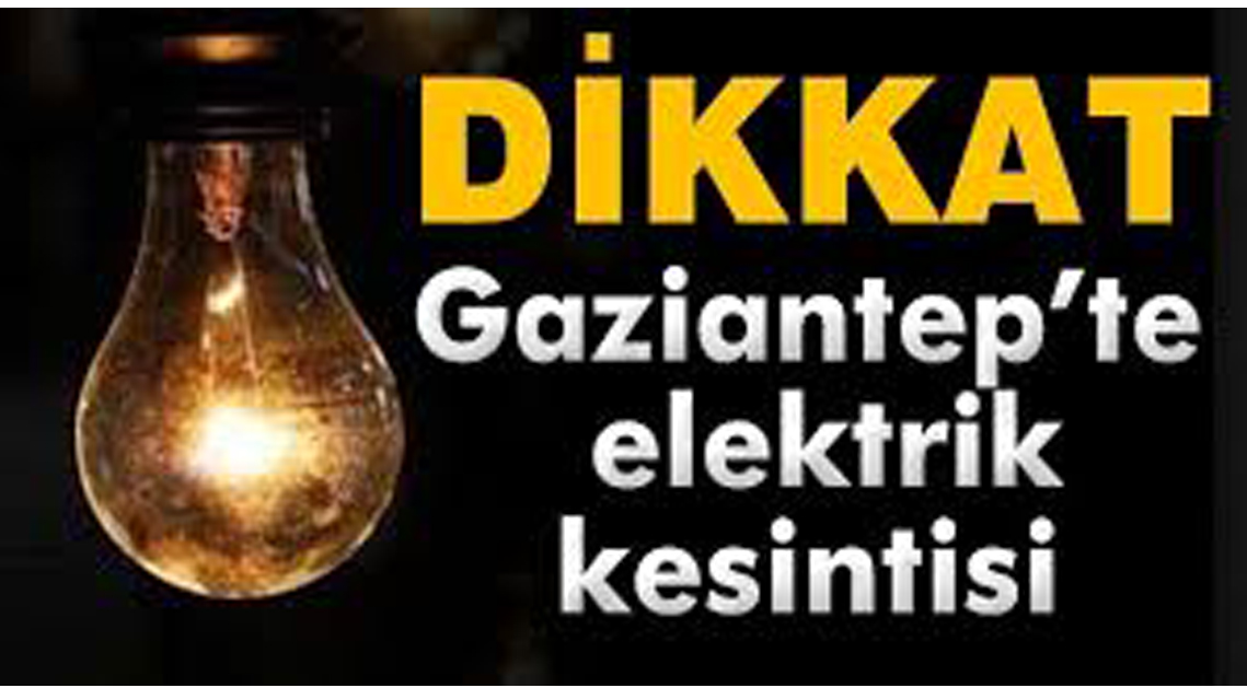 Nerelerde elektrik kesilecek
