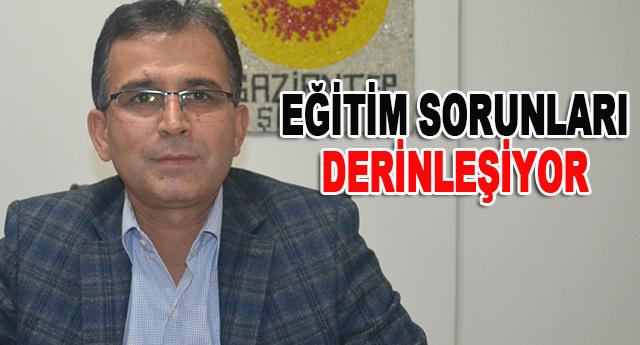 GAZİANTEP'TEKİ ÖĞRETMENİN YÜKÜ FAZLA