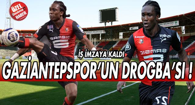 Gaziantepspor'un Drogba'sı