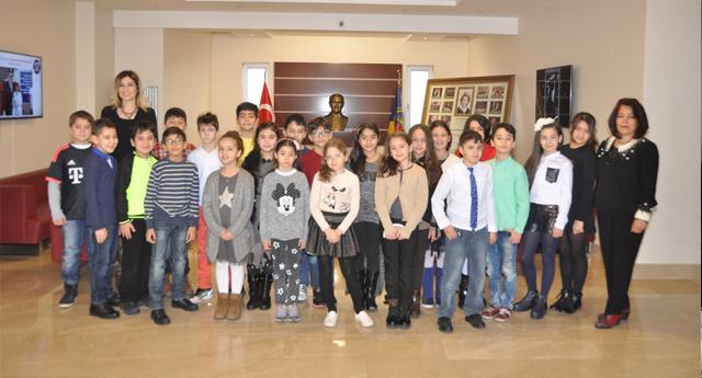 Gaziantep Kolej Vakfında Karne Sevinci