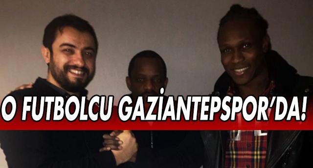 HABİBOU GAZİANTEPSPOR'DA !