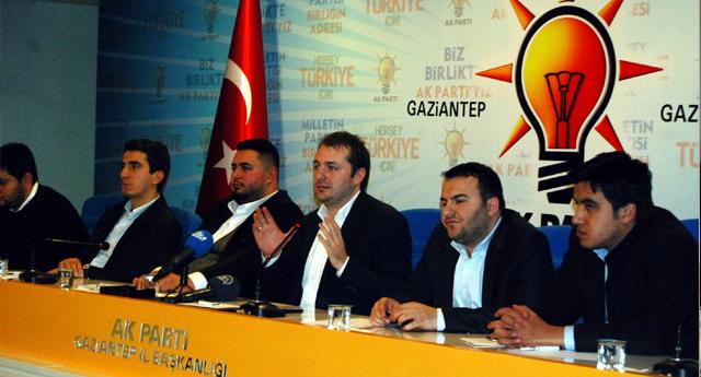 Ak Partili Gençler Gaziantep'te Buluştu
