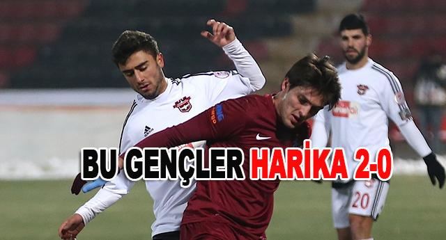 Gaziantepspor kupada ki son maçını galibiyetle kapattı
