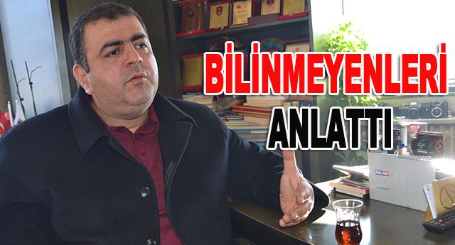Mehmet Sucu gazetemize çarpıcı açıklamalarda bulundu