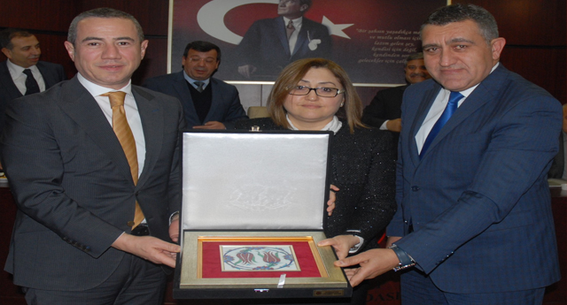FATMA ŞAHİN GTO MECLİSİNE KONUK OLDU