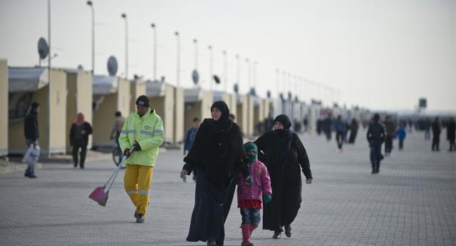 Kamplar Sığınmacıların Yüzünü Güldürdü