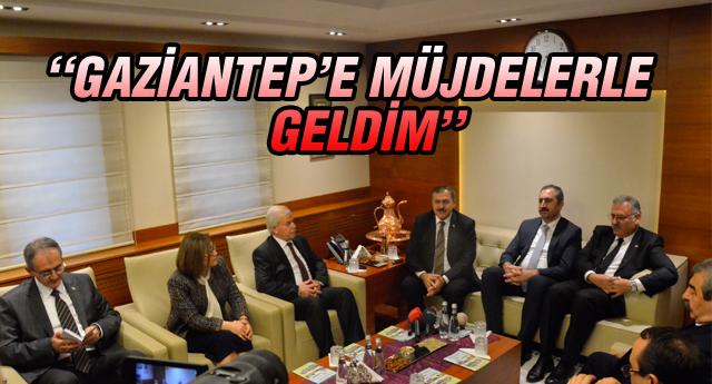 BAKAN EROĞLU GAZİANTEP'TE