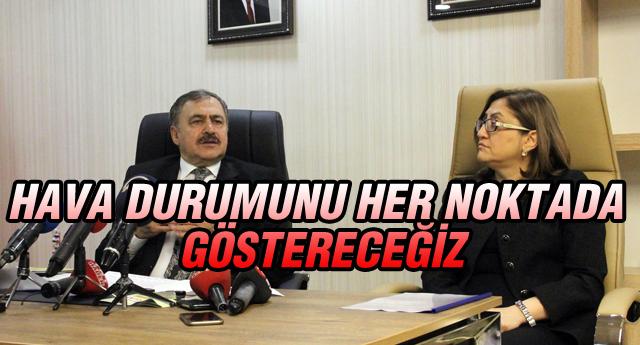 GAZİANTEP'E METEOROLOJİ RADARI KURULACAK