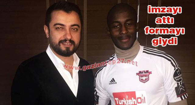 Prince Desir  Gaziantepspor'da