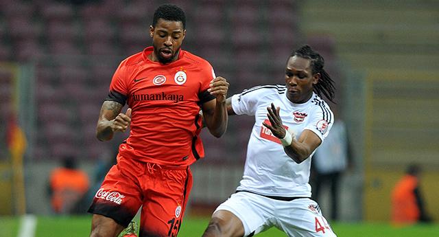 İlk golü Galatasaray'a