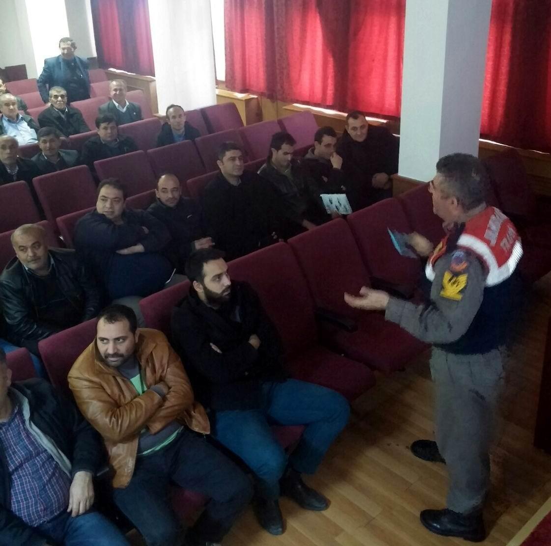Jandarmadan 160 Servis Sürücüsüne Eğitim
