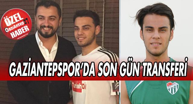 İŞTE GAZİANTEPSPOR'UN SON TRANSFERİ