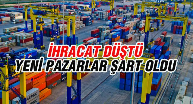 OCAK AYINDA İHRACAT 16,9 GERİLEDİ