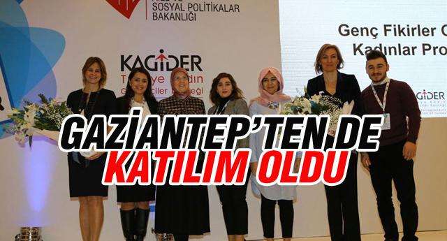 ''GENÇ FİKİRLER,GÜÇLÜ KADINLARDA'' ÖDÜL