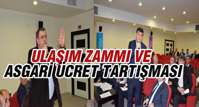 MECLİS'TE ZAM ELEŞTRİSİ