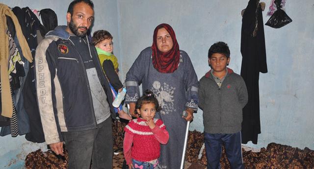 Ayağını Kaybetti,Çocuklarını Kurtardı