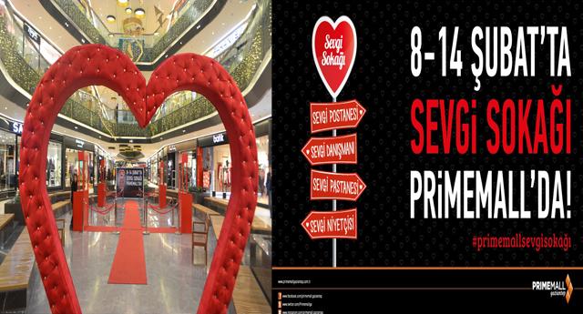 Prime Mall'dan Sevgililer Günü Etkinliği
