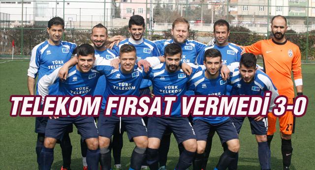 Türk Telekom'dan Net Sonuç 3-0