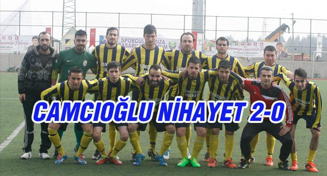Camcıoğlu Haftalar Sonra Güldü 2-0