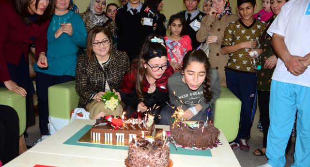 Şahin'den Doğum Günü Kutlaması
