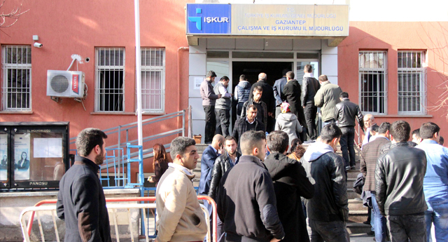 Gaziantep'te İşssizlik Kuyruğu