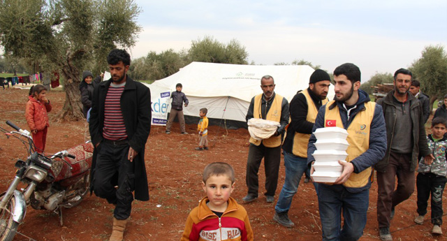 Türkiye Sınırına Gelen Mülteciler