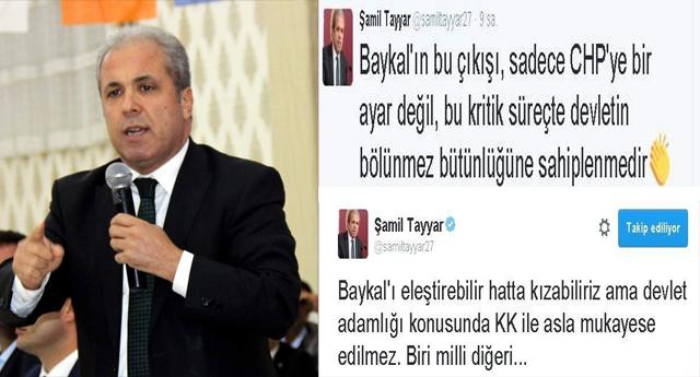 Tayyar'dan Destek Geldi