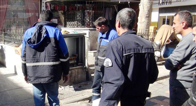 Gaziantep'te Trafo Patladı
