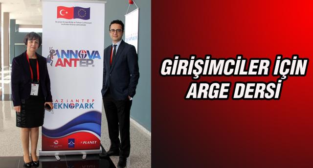 GAÜN'DEN FİRMALARA ARGE DERSİ