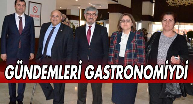 GASTRONOMİ'Yİ KONUŞTULAR