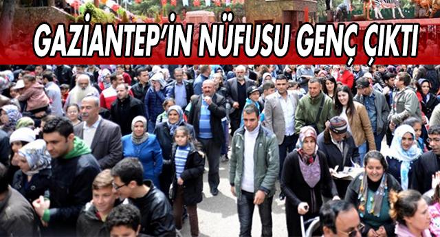 İŞTE GAZİANTEP'İN YAŞ ORTALAMASI