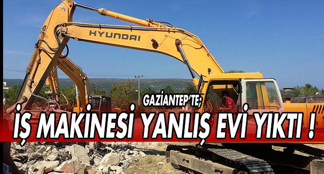 GAZİANTEP'TE BÖYLE OLAY GÖRÜLMEDİ