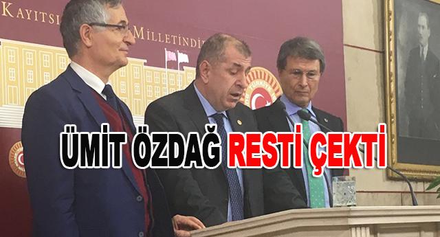 MHP'DE ÖZDAĞ DEPREMİ
