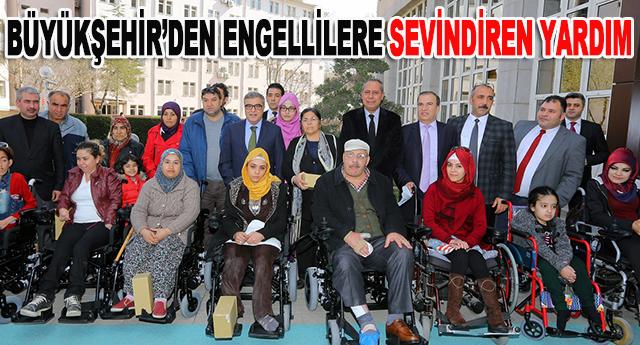 54 engelli vatandaşı sevindirdi